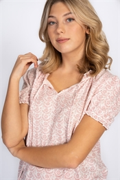 Bild på Lily Blouse Rose Blush/Creme