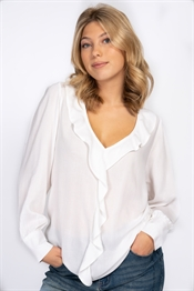 Picture of Agnes Blouse Offwhite