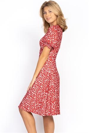 Picture of Sophia Dress Strawberry/Creme