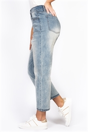Bild på Jill High Waist Jeans Light Blue Denim