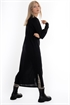 Picture of Inez Dress Cardigan Black