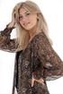 Bild på Smilla Shirt Midnight Blue/Heather/Gold
