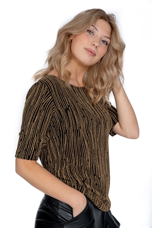 Picture of Glam Top Antique Gold/Black